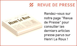 """Pour la revue de presse, <a href=""""http://www.chocolatleroux.com/06-Revue-de-Presse""""> cliquez ici</a>"""