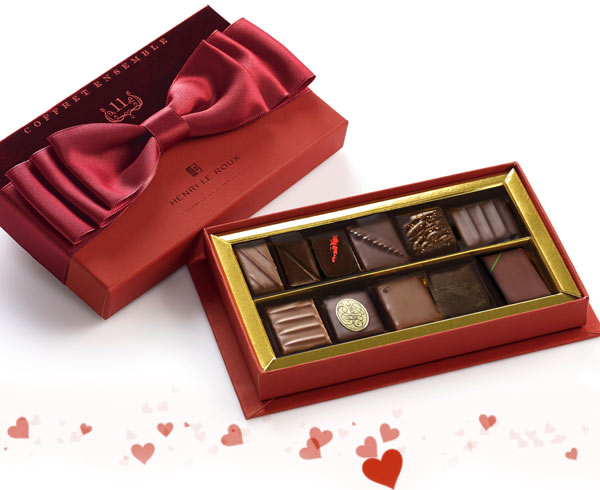 Le coffret Saint-Valentin « Ensemble »