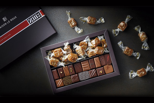 Le Coffret DUO Chocolats & Caramels